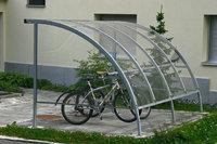 Überdachung - Überdachung für Fahrräder