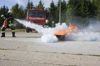Übung - Übung der Feuerwehr