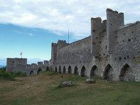 Ummauerung - Mittelalterliche Ummauerung einer Stadt