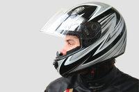 Visier - Helm mit geöffnetem Visier