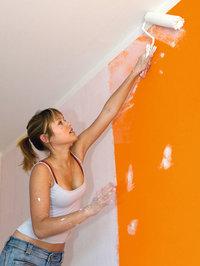 Wand - Streichen einer Wand