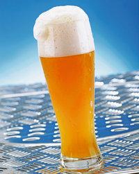 Weißbier - Weißbier in einem Glas