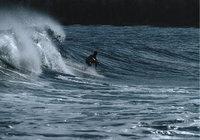 Welle - Welle und Surfer