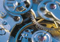 Werk - Werk einer Uhr