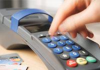 Zahlung - Zahlung mit Karte an einem Eingabegerät