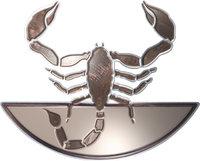 Zeichen - Symbolische Darstellung des Zeichens Skorpion