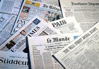 Zeitung - Mehrere Zeitungen in verschiedenen Sprachen