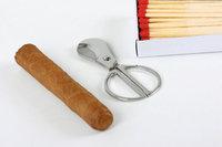 Zigarrenabschneider - Zigarre, Zigarrenabschneider und Streichhölzer