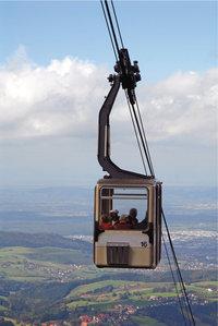 Zugseil - Das Zugseil einer Seilbahn