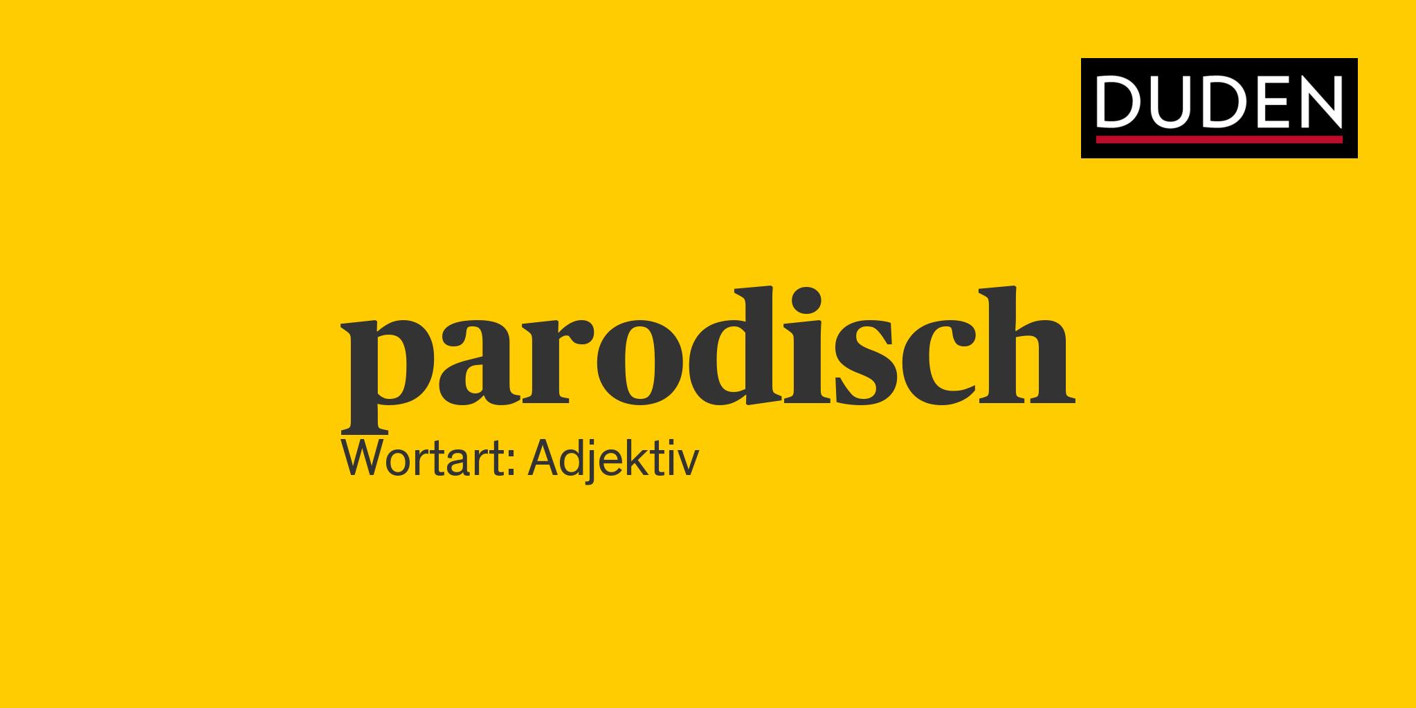 Parodisch