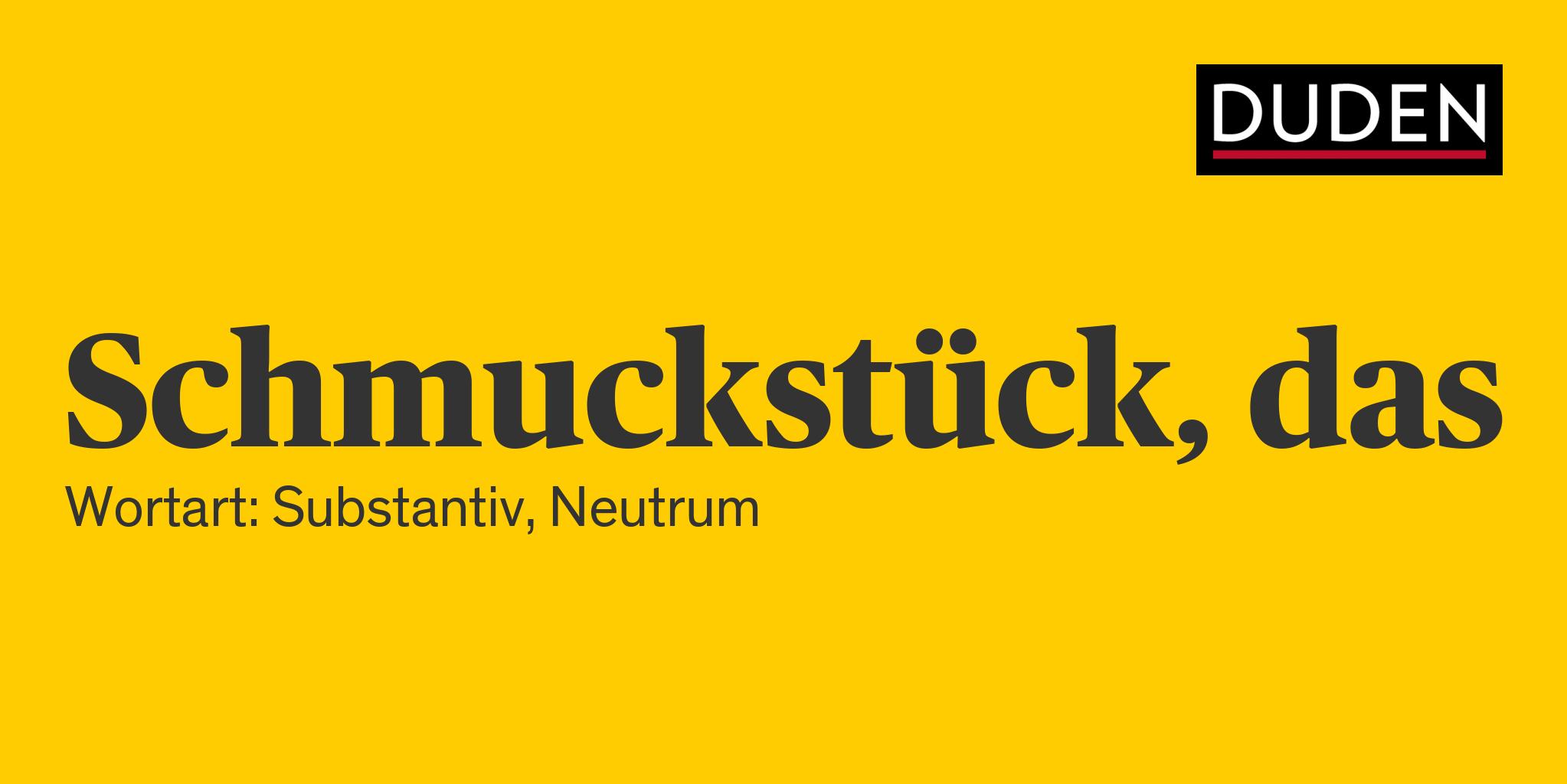 Anderes Wort Für Schmuck