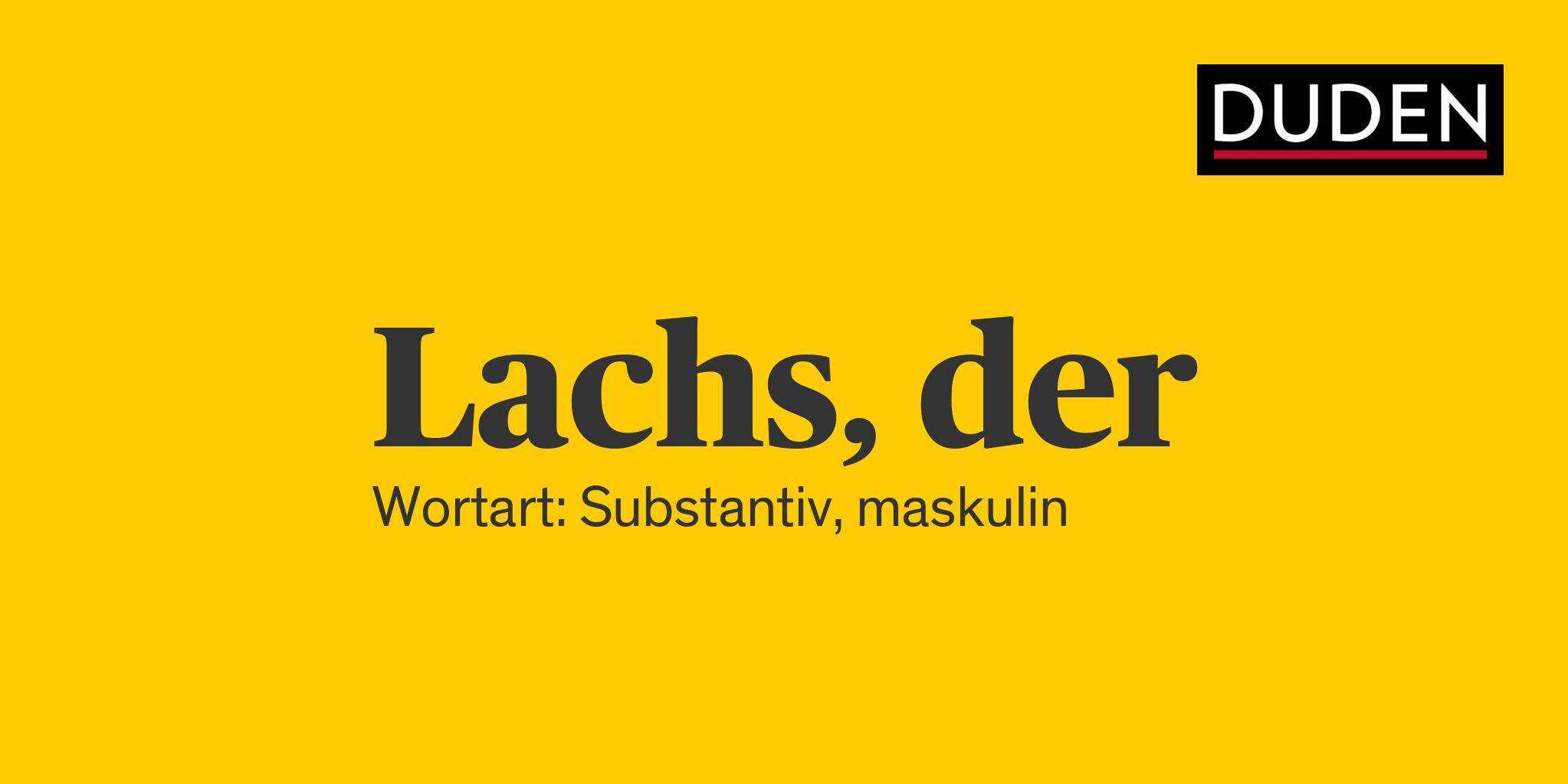 Lachs Duden