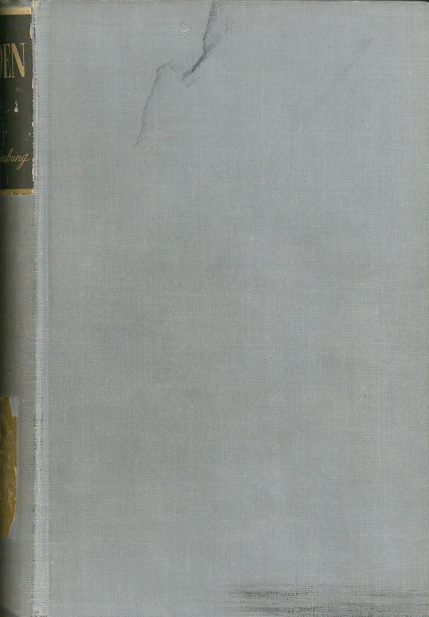 Buchcover Duden von 1941