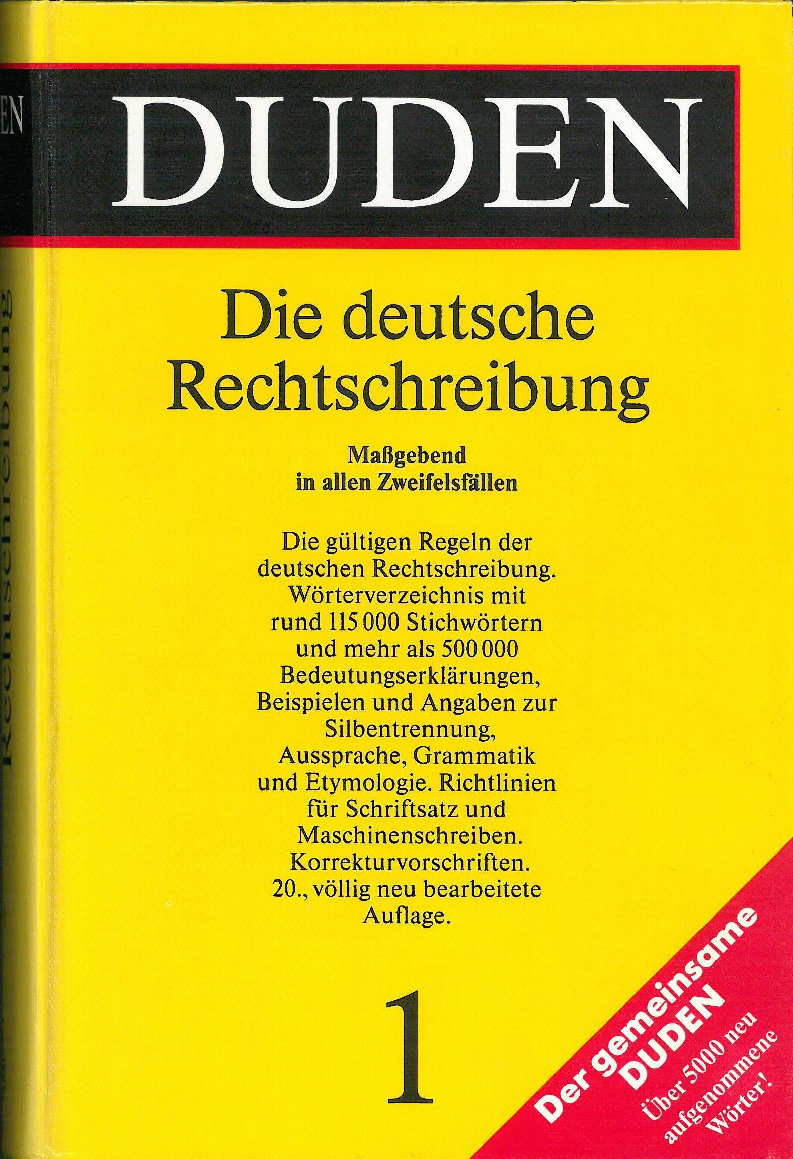 Duden Auflagen Des Dudens 18802017
