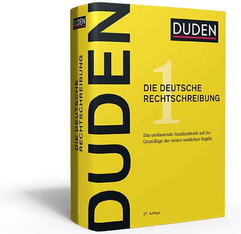 Buch: Rechtschreibduden