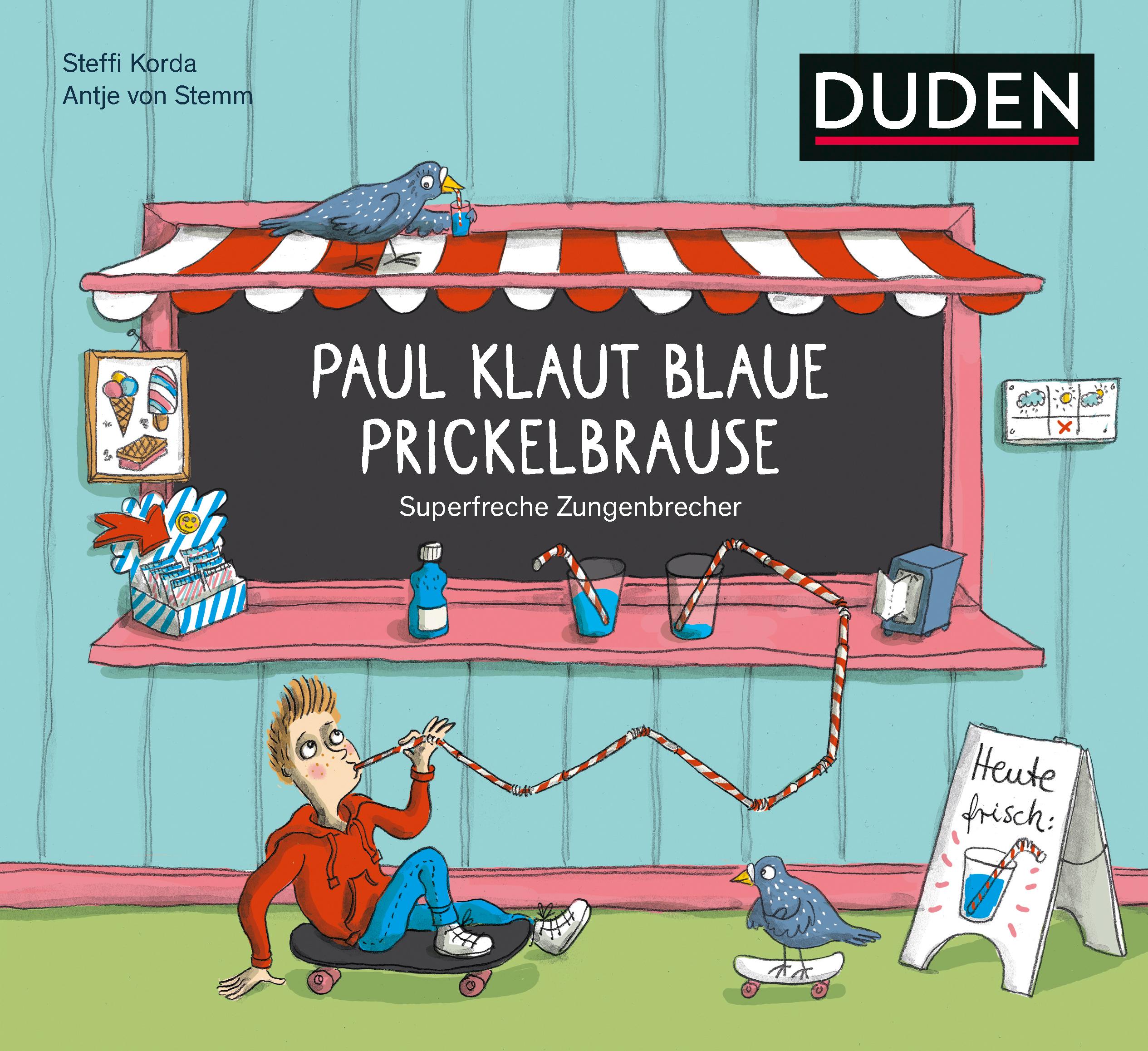Buchcover: Paul klaut blaue Prickelbrause