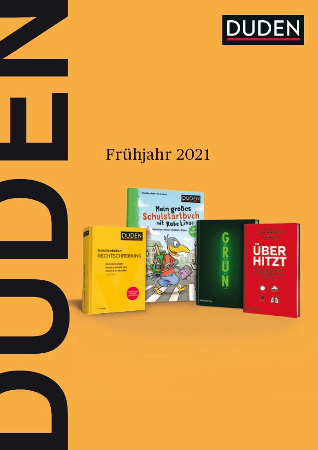 Deckblatt: Programmvorschau Frühjahr 2021