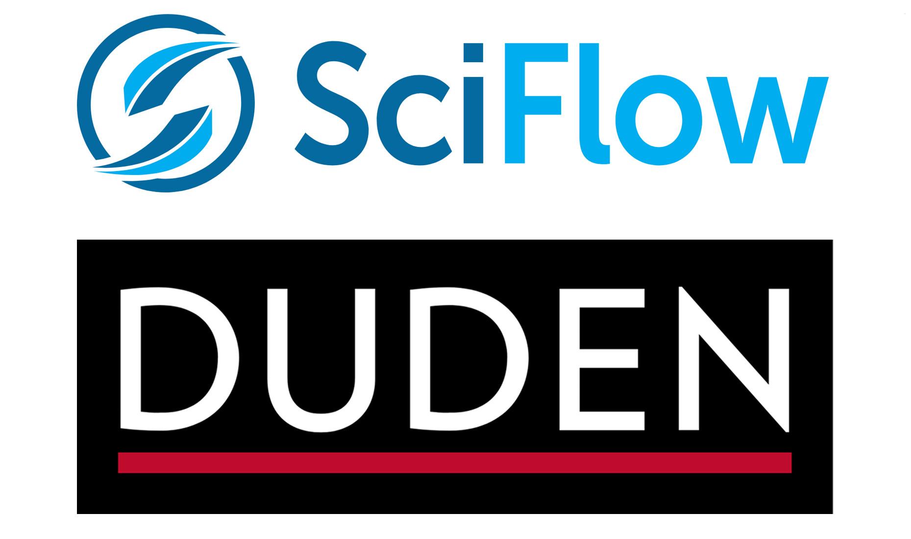 Logos: Duden und SciFlow