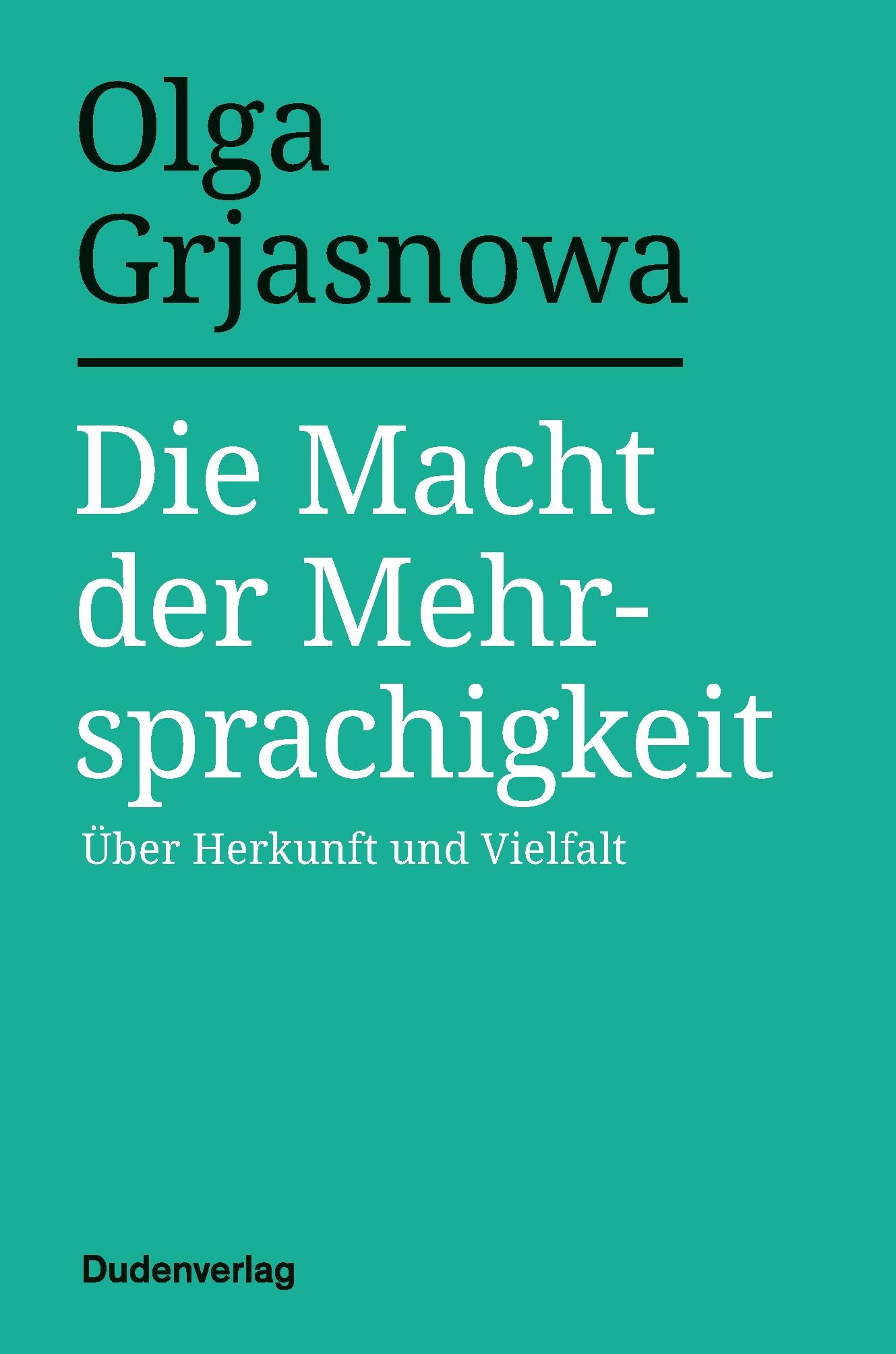 Buchcover: Die Macht der Mehrsprachigkeit