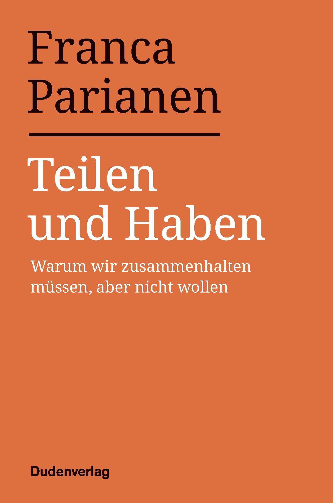 Buchcover: Teilen und haben