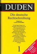 Buchcover Duden von 1991