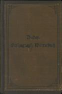 Buchcover Duden von 1900