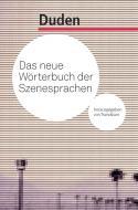 Buchcover: Das neue Wörterbuch der Szenesprachen