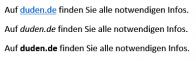 Screenshot: unterschiedlich ausgezeichnete URLs