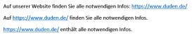 Screenshot: URLs aus der Adresszeile