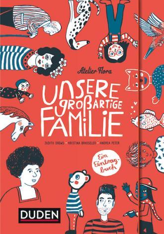 Buchcover, Unsere großartige Familie
