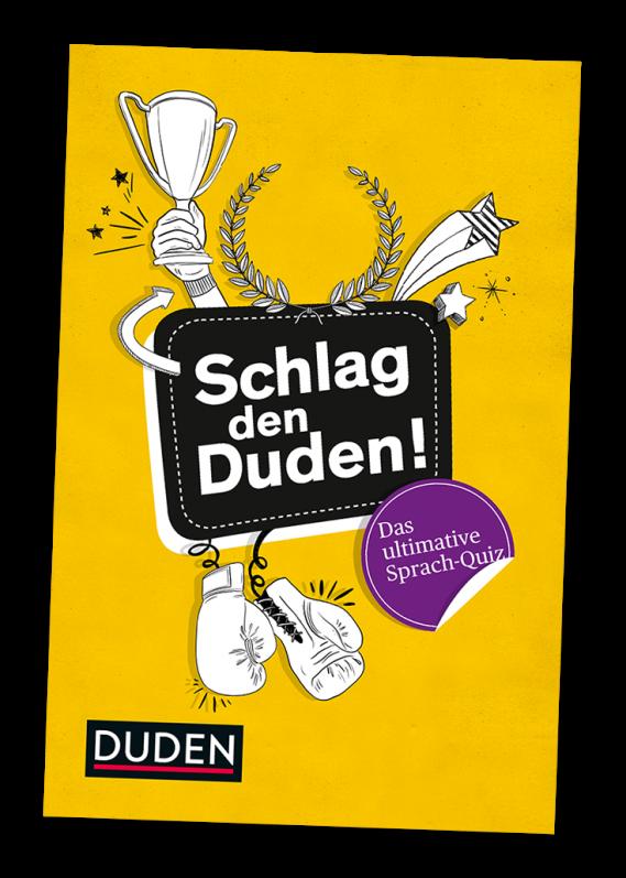 Buchcover: Schlag den Duden!