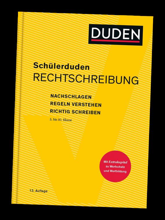 Buchcover: Schülerduden Rechtschreibung