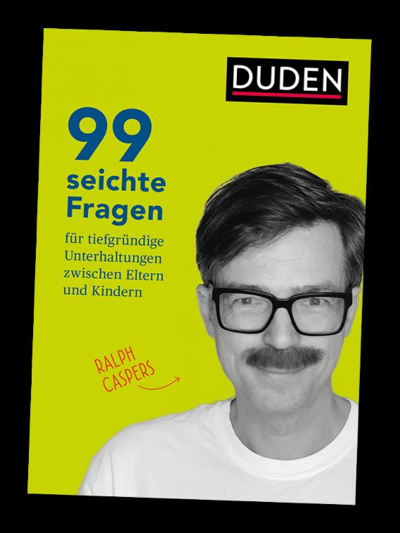 Buchcover: 99 seichte Fragen